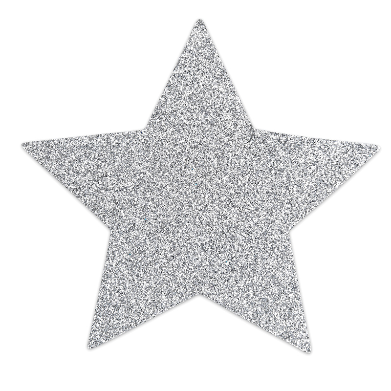 FLASH STAR-SILVER